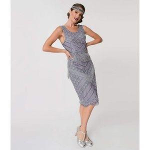1920s style Beaded Flapper dress